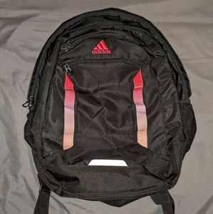 Adidas Load Spring Pink Ombre and Black Backpack